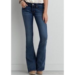 American Eagle the artist flare jeans size 4 long